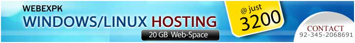 WebExPk Affordable Hosting